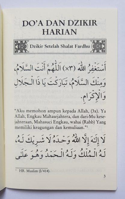 Dzikir Pagi & Petang dan Sesudah Shalat Fardhu Menurut Al Quran dan As Sunnah yang Shahih - Isi 1