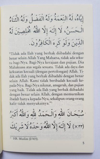 Dzikir Pagi & Petang dan Sesudah Shalat Fardhu Menurut Al Quran dan As Sunnah yang Shahih - Isi 2