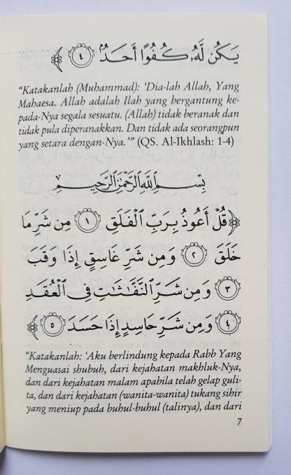 Dzikir Pagi & Petang dan Sesudah Shalat Fardhu Menurut Al Quran dan As Sunnah yang Shahih - Isi 3