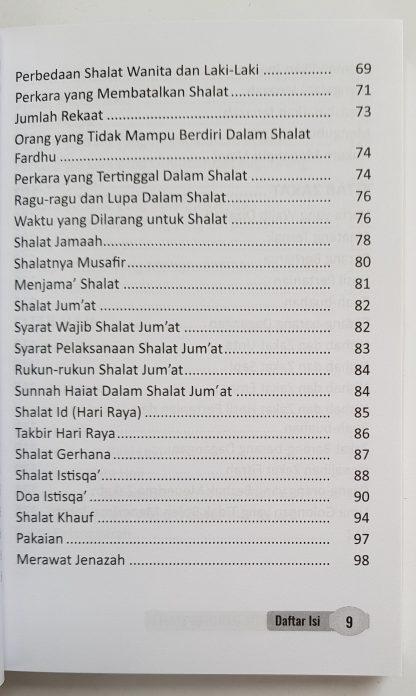 Fikih Praktis Madzhab Syafi'i (Matan Abu Syuja') - Daftar Isi 2