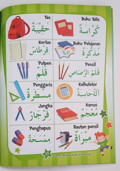 Kamus Bahasa Arab Untuk Anak - Isi 3