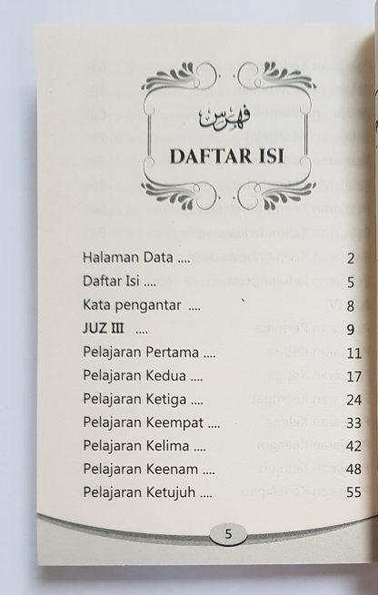 Kamus Durusul Lughah (Jilid 3-4) - Daftar Isi 1