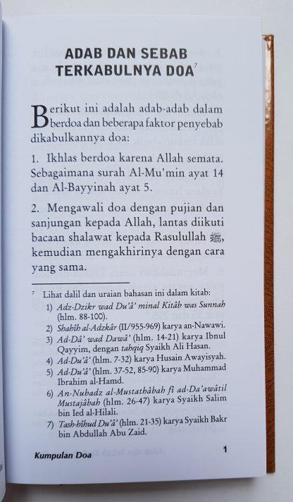 Kumpulan Do'a dari Al Quran dan As Sunnah yang Shahih - Isi 1