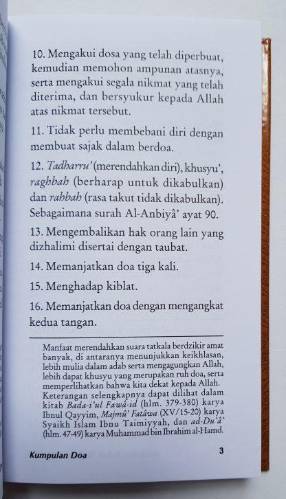Kumpulan Do'a dari Al Quran dan As Sunnah yang Shahih - Isi 2