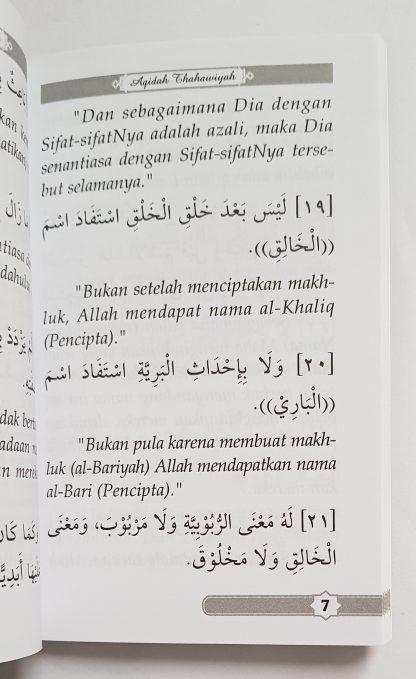 Matan Al Aqidah Ath Thahawiyah - Isi 2