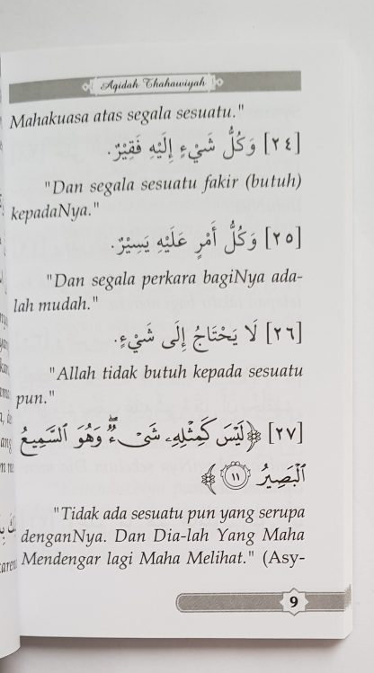 Matan Al Aqidah Ath Thahawiyah - Isi 3