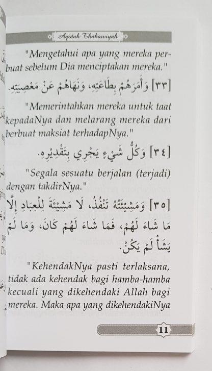 Matan Al Aqidah Ath Thahawiyah - Isi 4