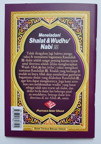 Meneladani Shalat & Wudhu' Nabi - Belakang