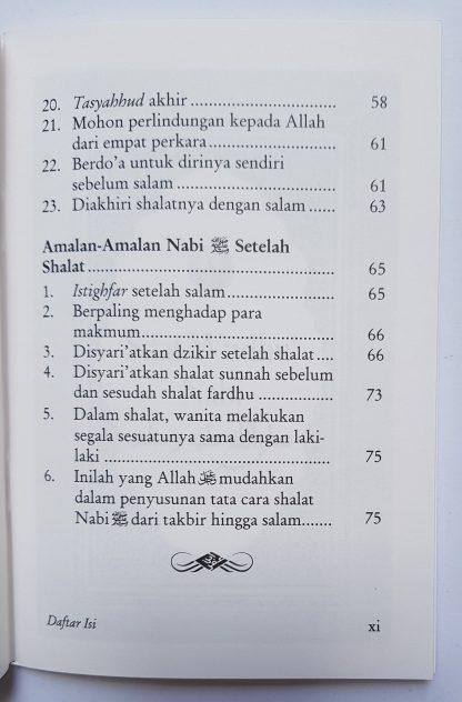 Meneladani Shalat & Wudhu' Nabi - Daftar Isi 2