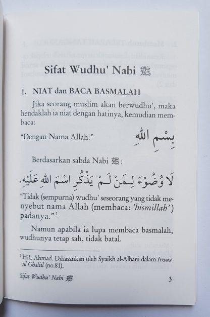 Meneladani Shalat & Wudhu' Nabi - Isi 1