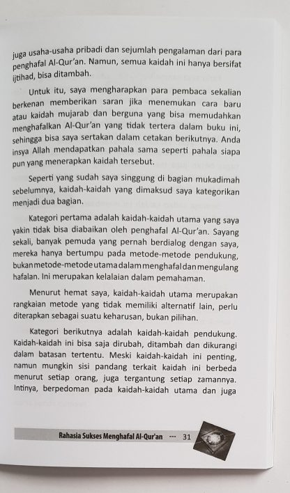 Orang Sibuk Pun Bisa Hafal Al Qur'an - Isi 2