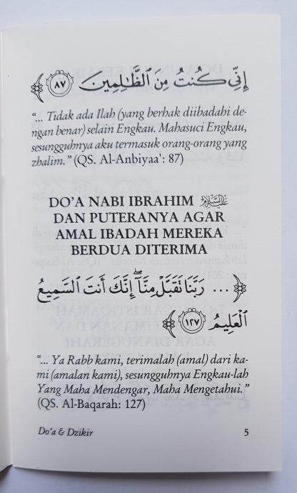 Tuntunan Do'a Harian Berdasarkan Al Qur'an dan As Sunnah yang Shahih - Isi 2