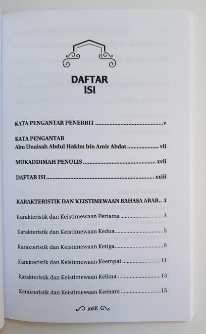 Keutamaan Dan Kewajiban Mempelajari Bahasa Arab - Daftar Isi 1