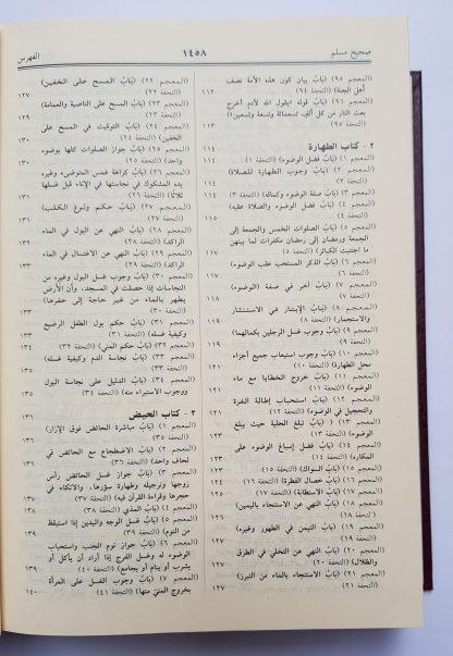 Shahih Muslim- Daftar Isi 1