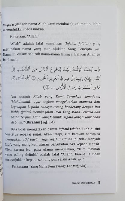 Syarah Ushulus Sittah - Isi 2