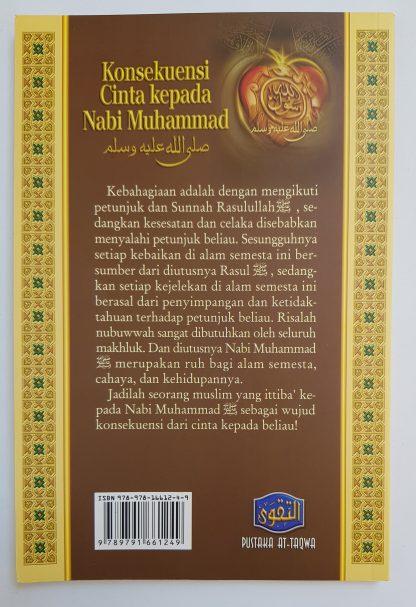 Konsekuensi Cinta Kepada Nabi Muhammad - Belakang