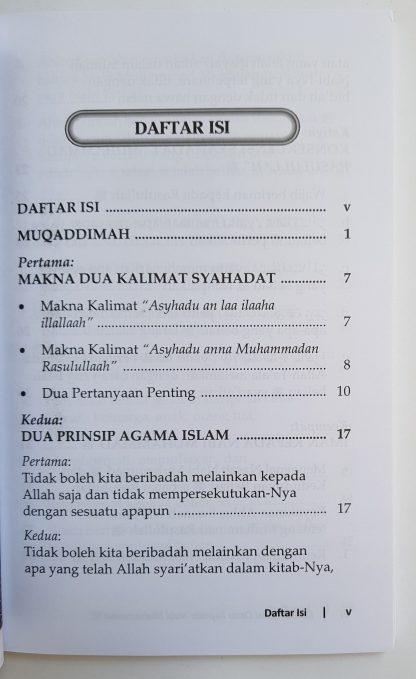 Konsekuensi Cinta Kepada Nabi Muhammad - Daftar Isi 1