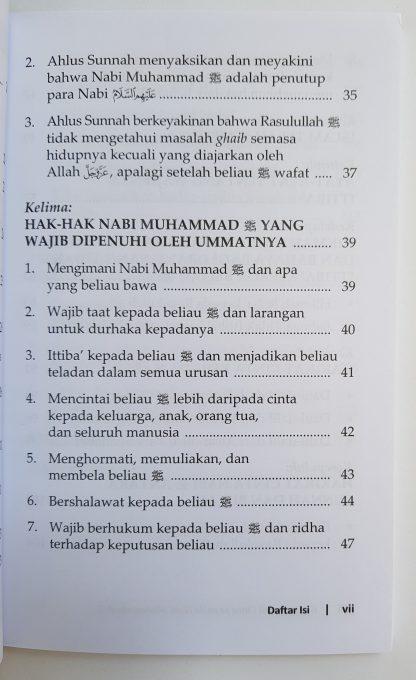 Konsekuensi Cinta Kepada Nabi Muhammad - Daftar Isi 2