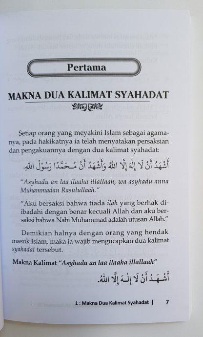 Konsekuensi Cinta Kepada Nabi Muhammad - Isi 1