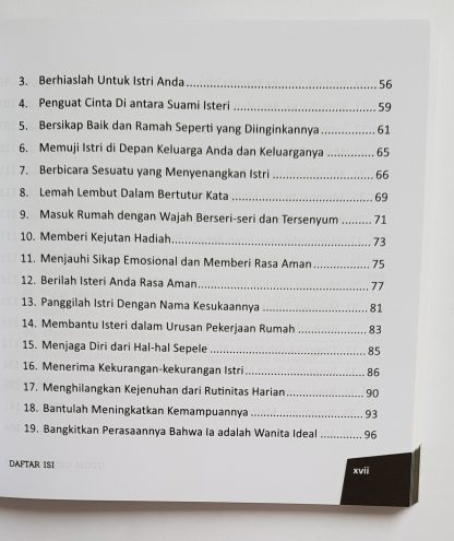 Istana Untuk Istriku - Daftar Isi 2