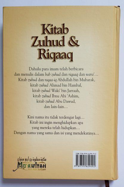 Kitab Zuhud & Riqaaq - Belakang