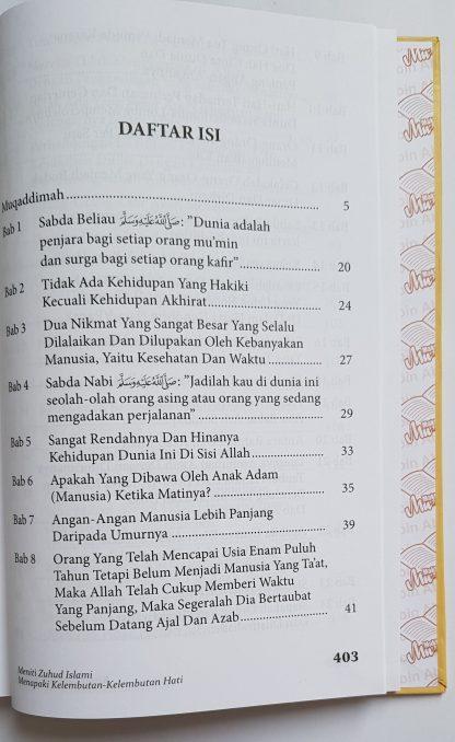 Kitab Zuhud & Riqaaq - Daftar Isi 1