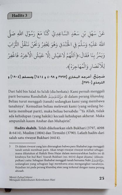 Kitab Zuhud & Riqaaq - Isi 1