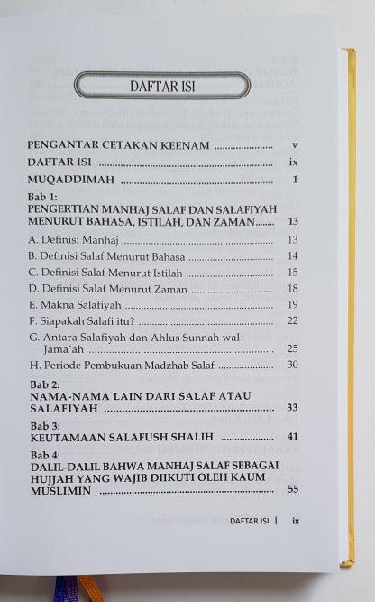 Mulia Dengan Manhaj Salaf - Daftar Isi 1