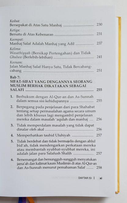 Mulia Dengan Manhaj Salaf - Daftar Isi 2