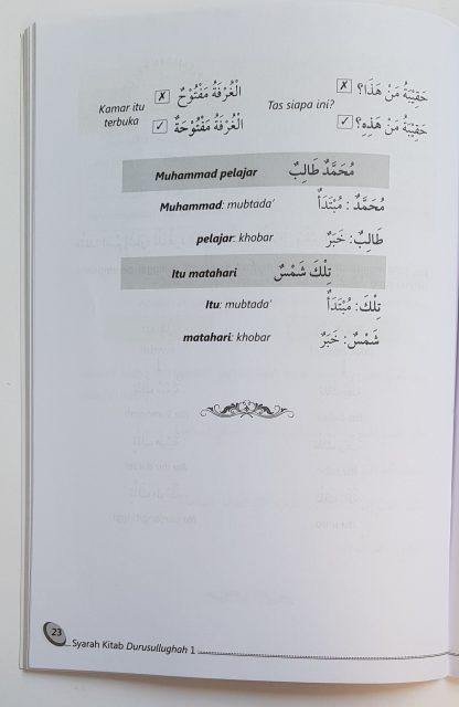 Syarah Durusul Lughah 1 - Isi 4